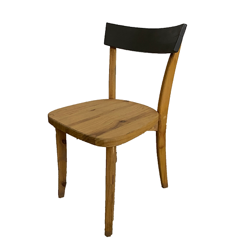 Bistro Chair - Grey & Wood