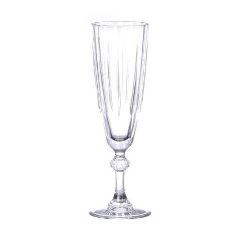 Striped Champagne Flute