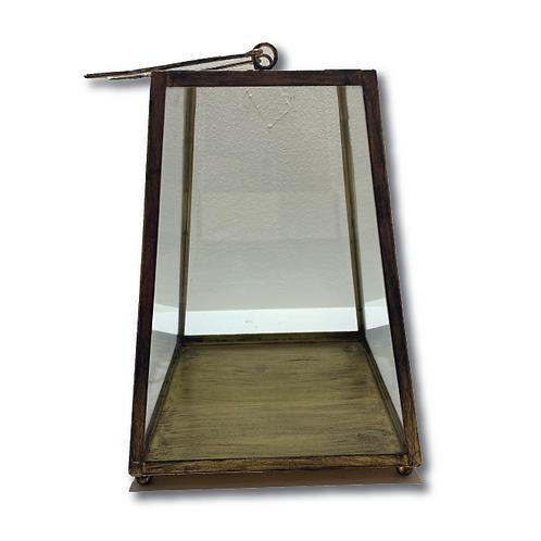 Geometric Lantern - Gold