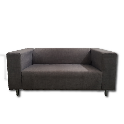 Fabric Block Couch -Grey
