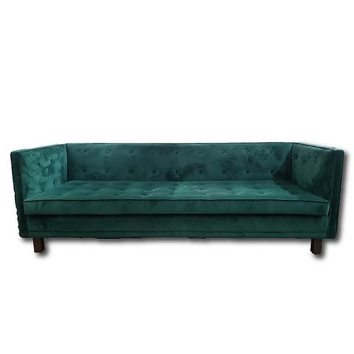 Emerald Velvet Couch -Green