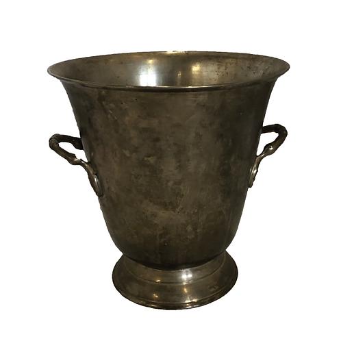 Antique Ice Bucket - SIlver