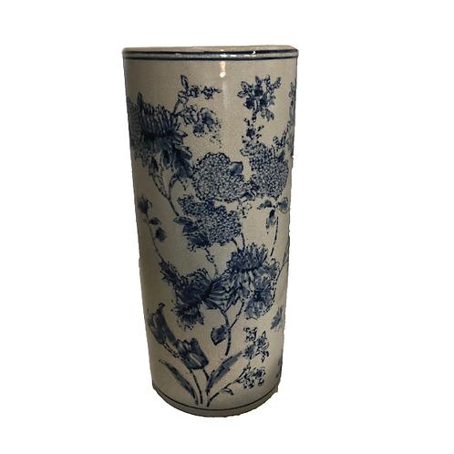 Delft Cylinder Vase - Large