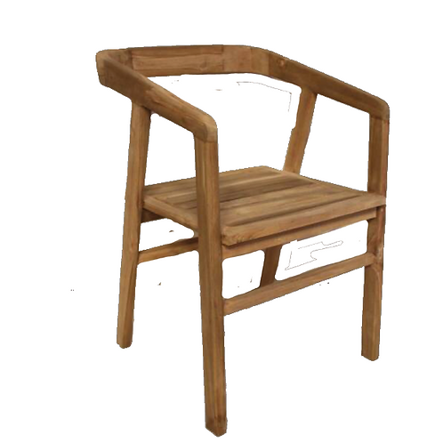 Dahlia Lounge Chair - Teak