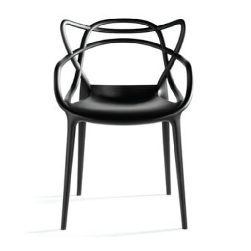 Masters Dining Chair - Black