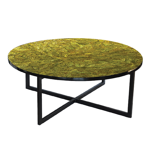 Mosaic Coffee Table - Yellow