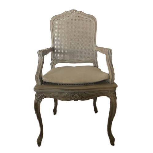 French Armchair - White