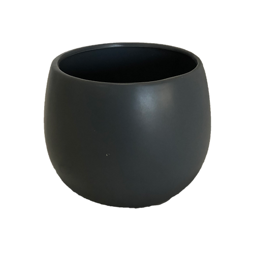 Ceramic Pot - Charcoal (Large)