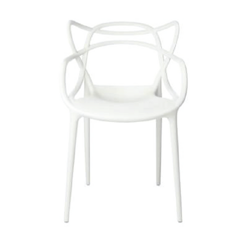 Masters Dining Chair - White