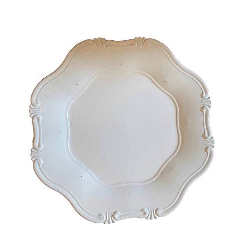 Cornucopia Underplate - White