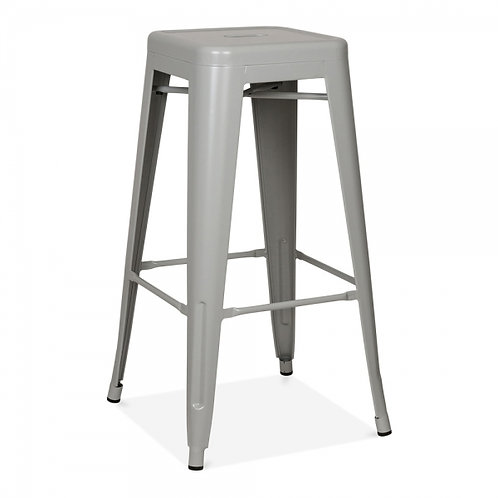 Tolix Bar Chair - Grey