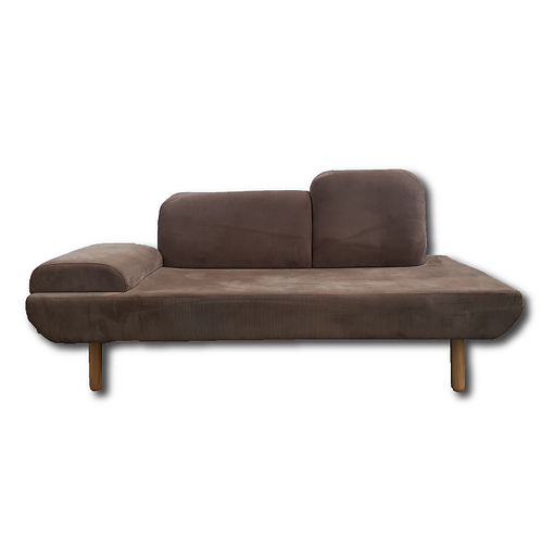 Retro Donna Couch -Brown