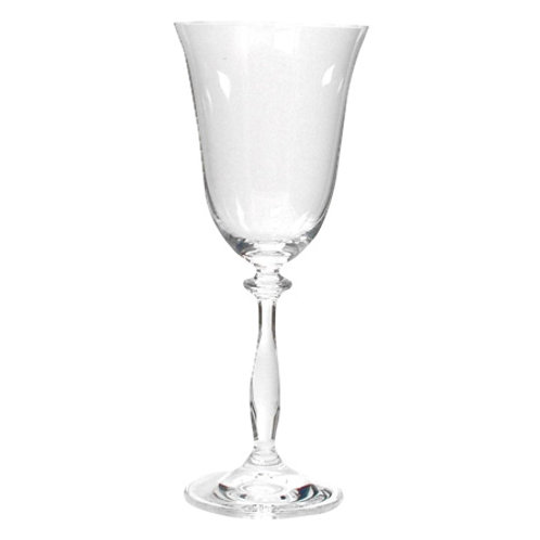Crystal Ball- Red Wine Glass