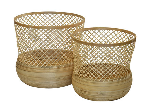 Woven Natural Basket (40x35cm)