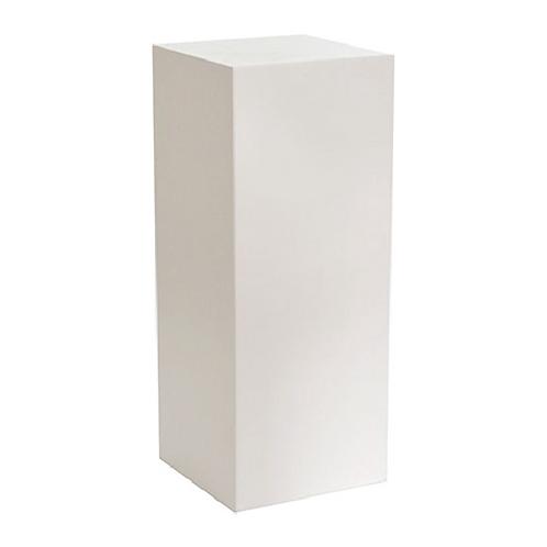 White Plinth - 75cm