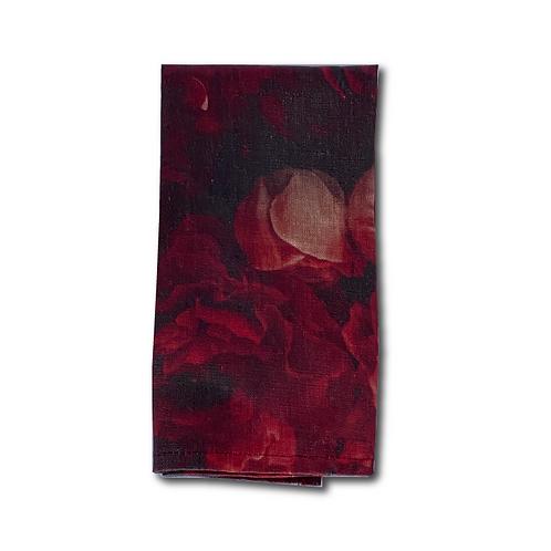 Linen Napkin - Rooi Rose