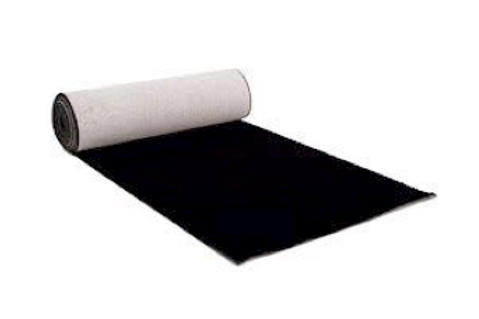 Carpet Runner - Black (10m)
