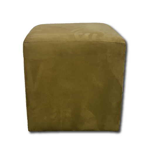 Cube Ottoman -Chartreuse Green