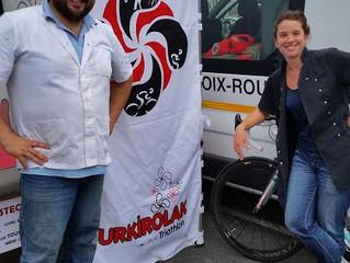 Guy et Sandrine... partenaires ostéopathes des événements sportifs!