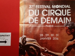 Festival Mondial du Cirque de Demain, Paris, 2016