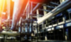 Industrial Zone, Steel Pipelines And Equ