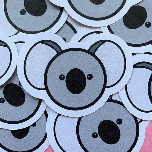 Matte Koala Die Cut Sticker