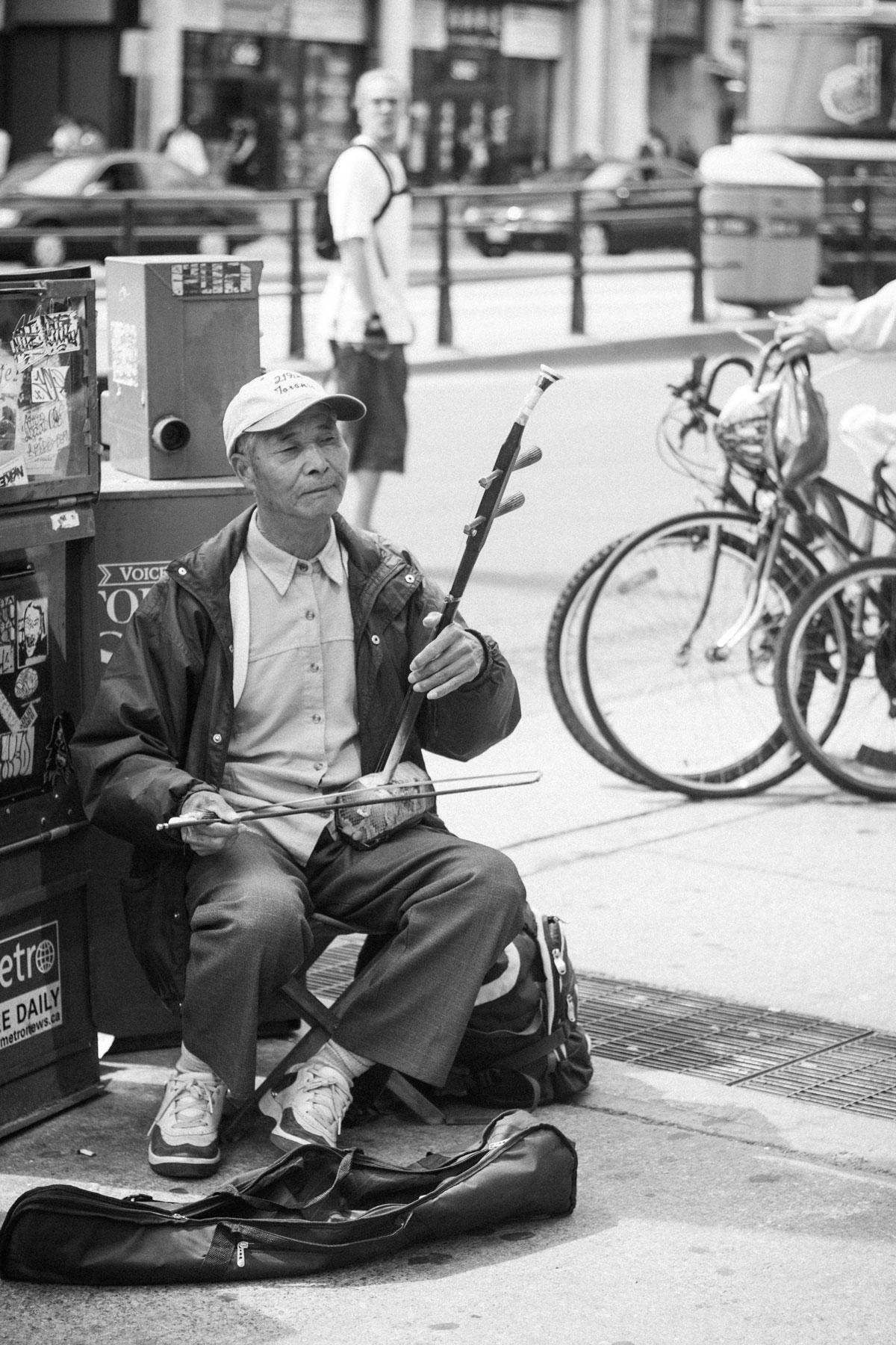 Fiddler in the Street