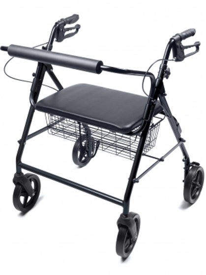 Lumex Walkabout Four-Wheel Rollator (Bariatric)