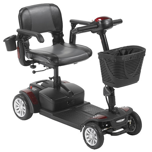 Drive Spitfire EX2 4-Wheel Travel Scooter