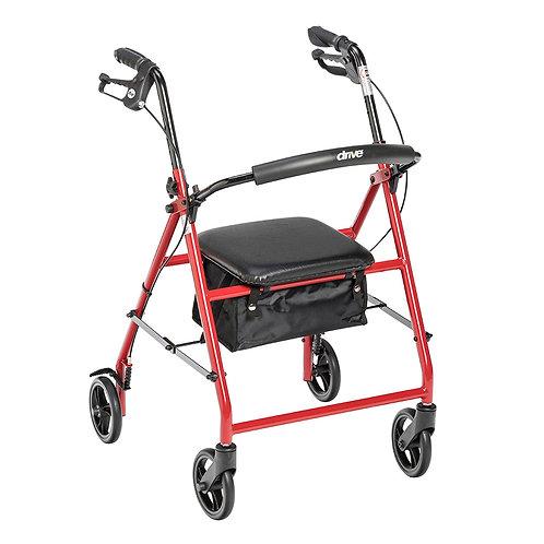 "Drive Steel Rollator with 6"" Wheels"