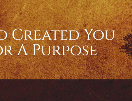 Created on Purpose