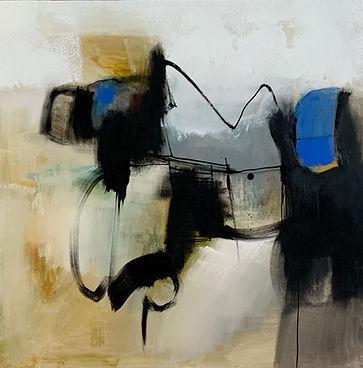 Opera Elia Inderle_Linee di Pensiero n2, 60x60cm, olio e smalti su tela, 2021.jpg