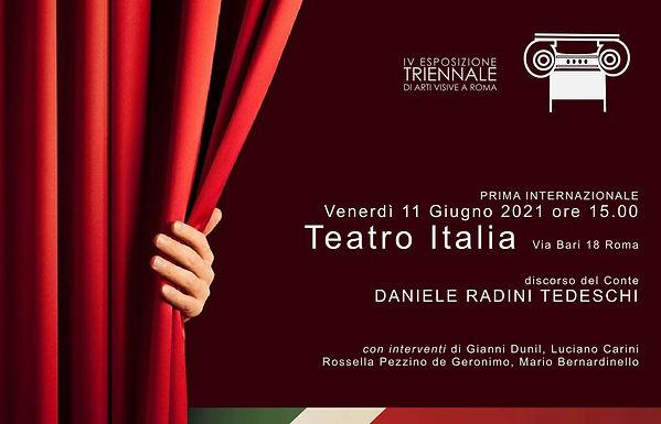 Invito Vernissage Esposizione Triennale