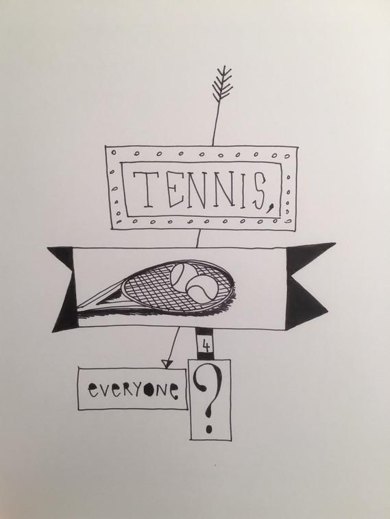 12. Tennis, Everyone? (Tennis, per tutti?), 2019