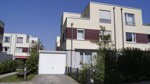 Doppelhaushälfte am Riedberg in Frankfurt.