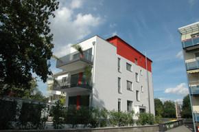 Mehrfamilienhaus - Neubau in Frankfurt/Dornbusch