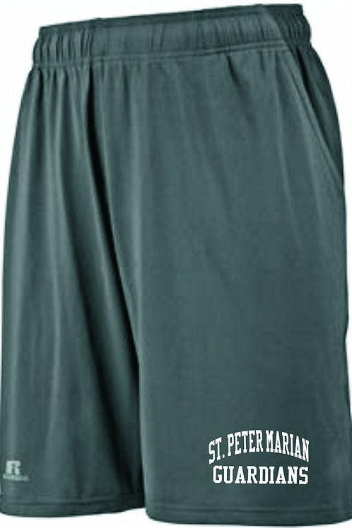 RUSSELL ATHLETIC MEN'S POCKETED PERFORMANCE SHORTS