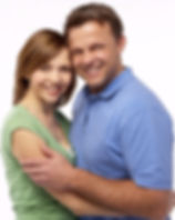 Image of happy caucasian couple symbolizing successful treatment for PTSD