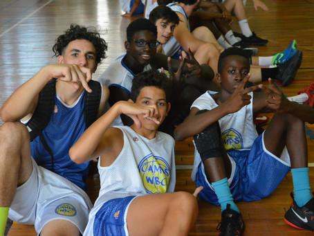 W de World Basket des Campeurs camps wbc a une identité qui lui  propre .
