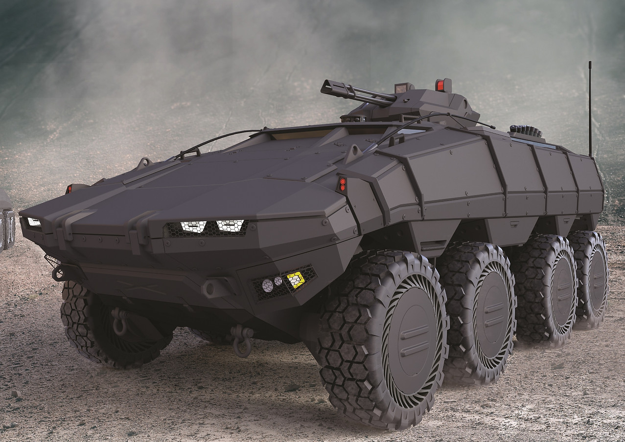 TUNGA-MODULAR ARMORED VEHICLE