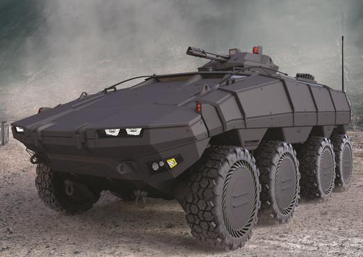 TUNGA-MODULAR ARMORED VEHICLE