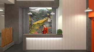 coworking office concept