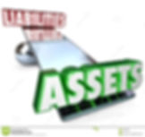 assets-vs-liabilities-balance-scale-net-