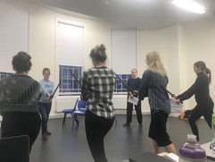 Othello rehearsals