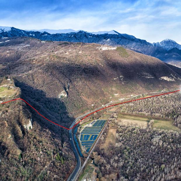 Riabilitazione acquedotto DN350 PN20 con unico inserimento di 2.000 m.