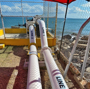 Indagine conoscitive oledotto sottomarino (2) alle Isole Fiji..