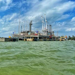 Indagine conoscitive oledotto sottomarino in Thailandia.