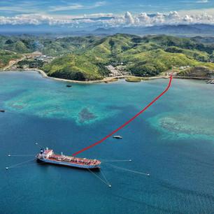 Riabilitazione oleodotto sottomarino in Papua Nuova Guinea.