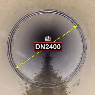 Riabiltiazione di giunzioni di condotta idroelettrica DN2400 PN6.