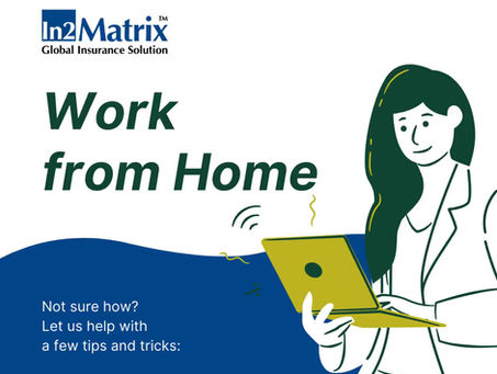 Tips to stay well and productive  when working from home is a necessity